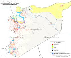 Syria Map Of Control by Syrian Civil War Map Who Controls What Entrancing Syria Map