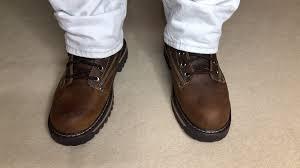 skechers men u0027s cool cat bully 2 lace up boots on feet 4k