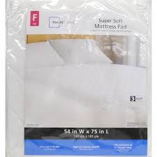 mainstays super soft mattress pad walmart com
