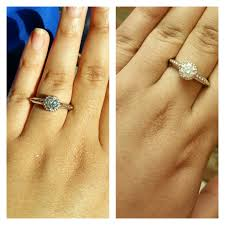 wedding ring direct how does your moissy look in direct sun