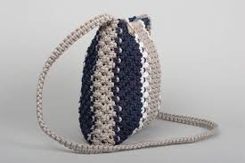 Gifts For Ladies Madeheart U003e Handmade Bag Macrame Bag Designer Purses Fashion