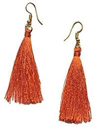 lotan earrings orange women s earrings buy orange women s earrings online at