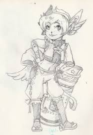 star guardian tristana concept sketch by kasugaxoxo on deviantart