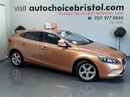 used volvo v40 grey for sale motors co uk