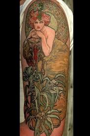 315 best mucha art nouveau tattoos images on pinterest tattoo