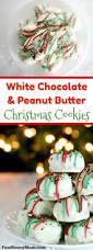 white chocolate peanut butter christmas cookies fun money mom
