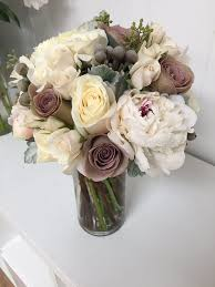 wedding flowers orlando vintage bridal bouquet with gorgeous peonies and roses soft grey