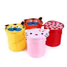 Laundry Hamper Kids by Foldable Cute Cartoon Pop Up Laundry Toy Bin Storage Hamper Box