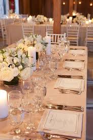 wedding reception tables 15 sophisticated wedding reception ideas reception and