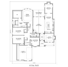 home design concept art one story open floor plans single house