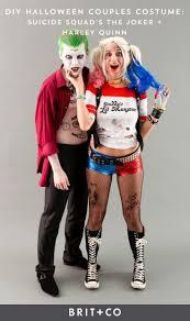 Joker And Harley Quinn Halloween Costumes by Cele Mai Bune 25 De Idei Despre Diy Couples Costumes Pe Pinterest