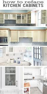 kitchen cabinet resurfacing ideas how to resurface kitchen cabinets espan us
