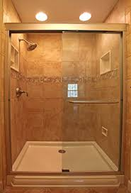nice shower bathroom design with nice traditional tile designs