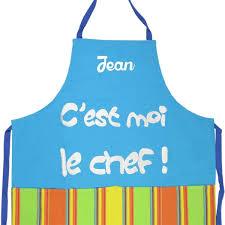 cuisine personnalis tablier de cuisine personnalisé c est moi le chef turquoise