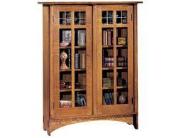 Double Bookcase Stickley Furniture 89 702 Double Door Bookcase Interiors Camp