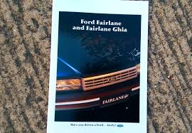 the carchive the ford fairlane nc hooniverse