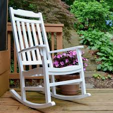 White Rocking Chair Outdoor by World U0027s Finest Outdoor Rocker Painted White