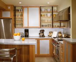 door cabinet end with isl and peninsula kitchen contemporary and