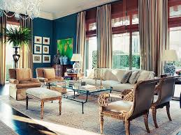 james costos and interior decorator michael s smith at home in