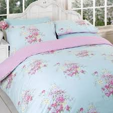 Duvet Dictionary Vintage Reversible Duvet Cover Floral Cotton Blend Bedding Bed