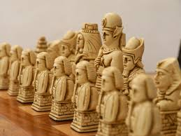 Ancient Chess Set Egyptian Chess Pieces By Berkeley Russet Brown U2013 Chess House