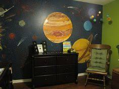a diy retro space themed nursery for a space themed nursery