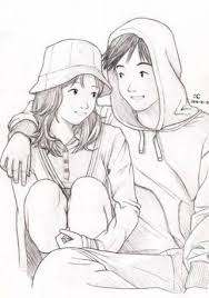 best 25 cute couple sketches ideas on pinterest mignons croquis