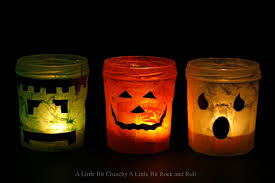 Mason Jar Halloween Lantern A Little Bit Crunchy A Little Bit Rock And Roll Halloween Votive