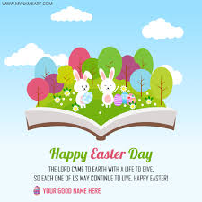 easter greeting cards happy easter day bunny greeting card wishes greeting card