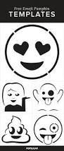 here are the emoji pumpkin templates of your dreams pumpkin