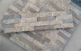 Stacked Stone Veneer Backsplash by Multicolor Quartzite Wall Stone Cladding Prices Cultured Stone