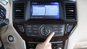 nissan pathfinder 2013 2013 nissan pathfinder audio system with navigation youtube