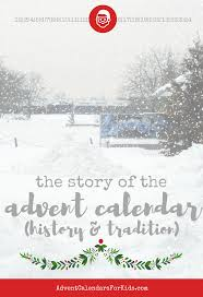 the story of the advent calendar