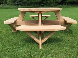 Design For Octagon Picnic Table by 49