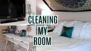 cleaning my room youtube