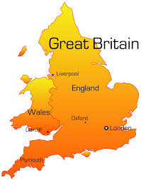 england map with cities blank outline map of england