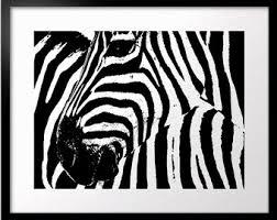 Animal Print Wall Decor Zebra Print Etsy
