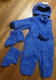 homemade cookie monster costume part deux visibleblue