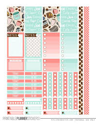 coffee planner stickers printable but first coffee free printable planner stickers for the classic