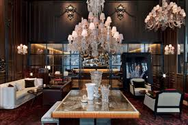 chandeliers nyc baccarat hotel new york traveller made