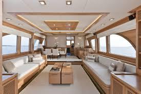 Boat Interior Refurbishment Fascinating Wide Beam Boat Interior Design Images Ideas Tikspor