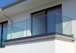glas balkon balkonbrüstung panther glas