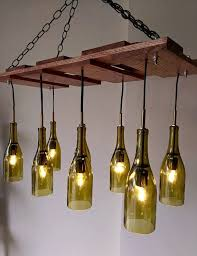 Whiskey Bottle Chandelier The 25 Best Wine Bottle Chandelier Ideas On Pinterest Make A