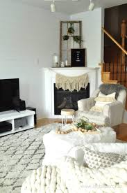 living room rustic scandinavian living room corner gas and wood