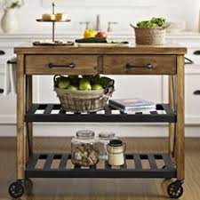 Kitchen Island With Wheels Our New Kitchen Cart I M In Real Simple Kitchen Island In