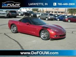used corvettes for sale in indiana chevrolet corvette for sale indiana or used chevrolet
