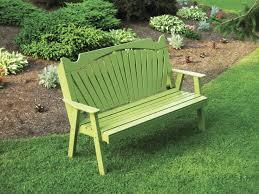 gardening bench amish furniture handcrafted garden bench