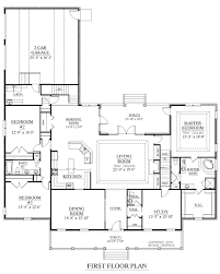 Side Garage Floor Plans Split Floor Plan And Side Load Garage House Plans Floor Plans Home