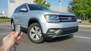 volkswagen atlas interior sunroof 2018 volkswagen atlas se start up test drive walkaround and