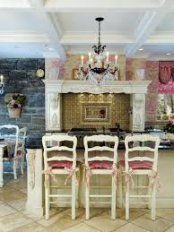 country french kitchens dining area white design style small round